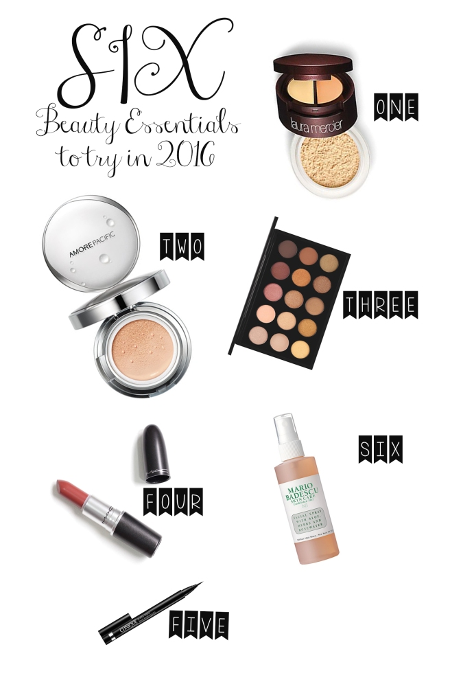 Six Beauty Essentials to try in 2016, AdriaJHill.com